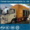 Caminhão de tanque pequeno do vácuo da capacidade para a limpeza da água de esgoto/tratamento Fecal