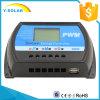 10A de Regelgever van het Voltage van het 12V24VZonnepaneel LCD voor Zonnestelsel met de AutoSchakelaar van gelijkstroom 0.8A 5V USB OTO-10A