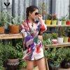 Шарф Роскоши Типа Цветаст Скачками повелительницы напечатанный геометрией Silk для розничного и оптового