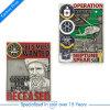 Moneta umana del premio su ordinazione del ricordo del rifornimento per la polizia