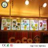 Slanke LEIDENE van de Raad van het Menu van Edgelight Lichte Doos voor Restaurants