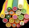 2017 fatia quente da fruta da arte do prego da argila 3D do polímero de Beautyfully do Sell, argila Fimo do polímero, produto da arte do prego da decoração