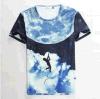 T-shirt en gros d'hommes d'impression de sublimation de qualité de mode (JS-9201)