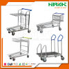 Heavy Duty Metallic Warehouse Platform Trolley Cart