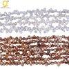 hilos renacidos de la perla de Keshi de la alta calidad de 4-5m m
