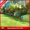 Natural como la hierba artificial del césped para la decoración del jardín