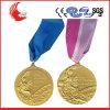 Lanière faite sur commande de médaillon de médaille de médaille de basket-ball de mode