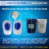 靴の中敷のMaking Siliconeの靴の中敷のための液体のSilicone Rubber