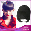 1b# Straight Fringe Neat Remy indiano Hair Clip in Bang