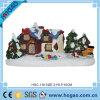 Het met de hand gemaakte Behandelde Landschap van Kerstmis van het Beeldje van de Hars Sneeuw