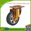 Europäischer Standard-elastische Gummischwenker-Hochleistungsfußrolle