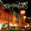 Decoração de néon da luz de rua do Natal do cabo flexível do diodo emissor de luz
