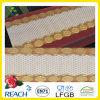 Mantel largo del cordón del oro del PVC de los 50cm * 20m