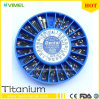 Titanium зубоврачебный Implant винта привинчивает ногти столба Endo