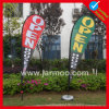Spiaggia Flag, Advertizing Banner, Feather Flag, Flag Banner con Palo