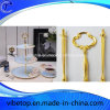 3 rangées des jeux de traitement de centre de stand de gâteau de plaque