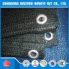 7 el invernadero Sun de la red de la cubierta de la cortina de Sun de la red del acoplamiento de la cortina del negro 75% de ' x 100 ' protege