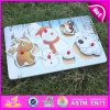 Christmas 2015 Gift Wooden Puzzle Toy, Cute Wooden Puzzle Toy, Popular Wood 3D Puzzle Game, Wood Puzzle Toy Game W14m093