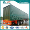 3-Axle Curtain Side Semi Trailer