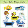 Mercury Free LCD Baby Bath Thermometer Card / Water Thermometer