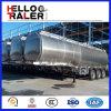 Saso аттестовало 42000 литров трейлера топливозаправщика газолина топлива алюминиевого