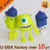 Memória Flash Shaped feita sob encomenda do USB dos desenhos animados da fábrica quente (YT-6433-46L)