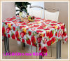 PVC Transparent Crystal Tablecloths para Wedding e Home Decor.
