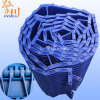 POM azules Plastic Conveyor Chain Plate y Stop Guanping Chemical Plant High Desgastan-Resisting Alkali Resistance Plate Conveyor Chain