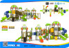 演劇Cheap LLDPE Plastic Kids Outdoor PlaygroundかJungle Gym/Amusement Park Playground Equipment