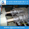Producción doble de la protuberancia del tubo del conducto eléctrico UPVC del enchufe de la cavidad que hace la máquina