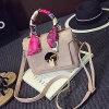 Sacs d'épaule de Hot Sale de marque de sac à main de Madame célèbre Sy7580