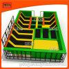 Fábrica quadrada ginástica barata do equipamento do Trampoline de China