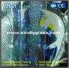 대나무 장식무늬가 든 유리 제품