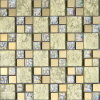 300X300mm Gold Foil Glass Mosaic (VMW3204)