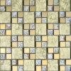 Mosaico de cristal de la hoja de oro del material de construcción (VMW3204, 300X300m m)