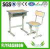 대중적인 다채로운 단 하나 학교 책상 및 의자 (SF-45S)