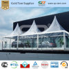 PVC Pagoda Tents /Clear 6m Traditional Marquee Pavilion di 6X6m Transparent