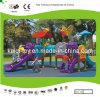 Insieme del campo da gioco per bambini di plastica di serie di Kaiqi con le trasparenze (KQ10159A)
