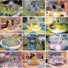Cour de jeu d'intérieur de chevreaux de fibre de verre heureuse de divertissement (ST1402-3)