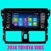 トヨタVios 2014年(IY8109)のためのGPSの車DVD