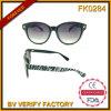 Fk5168 Fhionable Großhandelschina Retro Sonnenbrillen mit Zebra-Muster