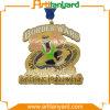 Médaille en métal de modèle de propriétaire rétro