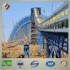 Estructura de acero bien diseñada del sistema de transportador