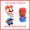 Disco do USB dos desenhos animados de Pendrive da movimentação do flash do USB de Mario