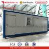 Casa modular pré-fabricada do recipiente do bloco liso para o quarto de Stroge