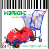 Carrello di plastica di acquisto del supermercato dei capretti dei bambini (HBE-K-5)