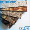ACP en aluminium de feuille d'enduit de PE de polyester de granit