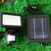 LED popolare Spot Lights Solar Powered con PIR Sensor