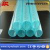 Tuyau tressé de fibre colorée de PVC