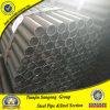 Tubulação de aço redonda preta da programação 40 de Q235B Q345b ERW